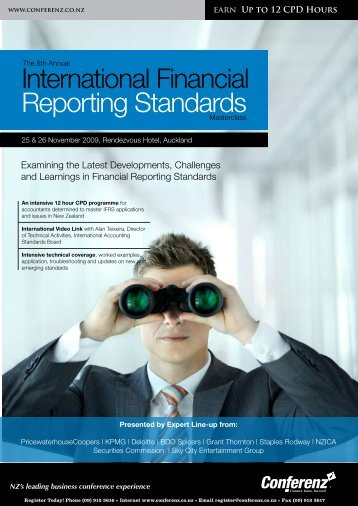 International Financial Reporting Standards - Conferenz