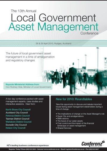 Local Government Asset Management - Conferenz