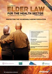 Protecting the vulnerable ageing population - Conferenz