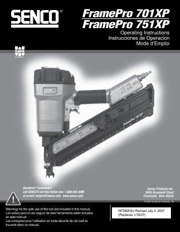 FP701XP-FP751XP NFD82H2J 7-2-07
