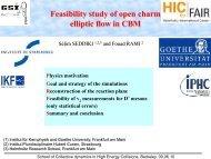 Study of the CBM Detector Capabilities for Open Charm Elliptic Flow ...