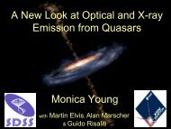 A New Look at Optical and X-ray Emission from Quasars Monica ...