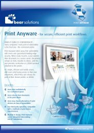 CMS/IP Print Anyware - BEAR Solutions
