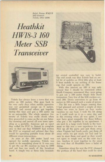 Heath HW-18 Receiver Review - Nostalgic Kits Central