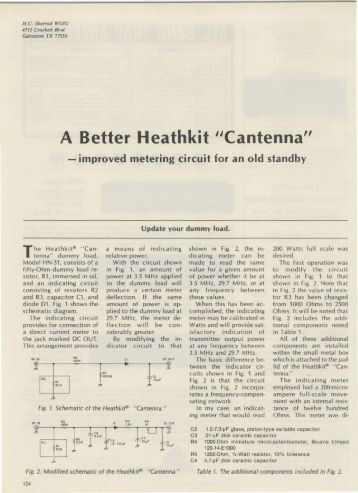 "A Better Heathkit ""Cantenna"" - Nostalgic Kits Central"