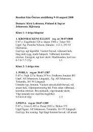 Resultat från Östruss utställning 9-10 augusti 2008 Domare: Kirsi ...