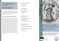 Interdisziplinäre wissenschaftliche Fachtagung - Neue Deutsche ...