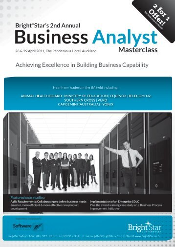 Business Analyst - Conferenz