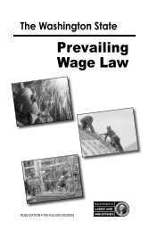 Prevailing Wage Law