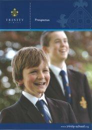Prospectus - Trinity School