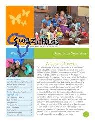 2012 Swazi Kids Newsletter
