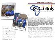 Newsletter Winter 2011