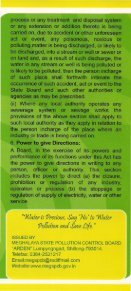 Pamphlets on Salient Features of the Water - Meghalaya State ... - Page 6