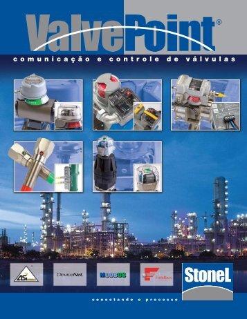 comunicação e controle de válvulas - StoneL