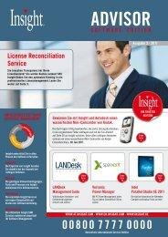License Reconciliation Service - Insight Web Server