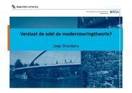 Adel & modernisering