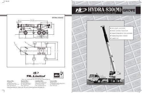 HYDRA 830(M) - til india on