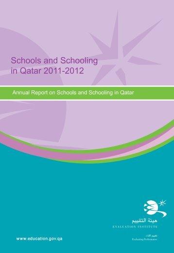 Schools and Schooling Report 2011-2012