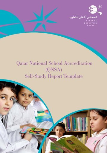 QNSA Self-Study English template with cover