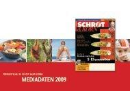 Mediadaten Schrot&Korn 2009