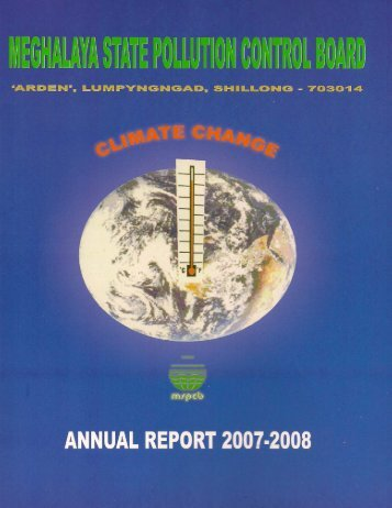 annual report 2007-2008 - Meghalaya State Pollution Control Board