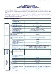 conto corrente semplice - Banca Mediolanum