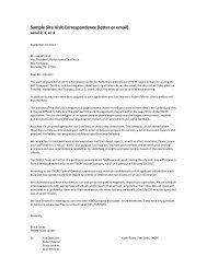 Sample Site Visit Correspondence Lv 2 3 4.pdf - Tennessee Center ...