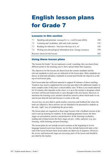 Indirect instruction lesson plan example grade level - How to design a lesson plan in english ...