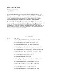 23rd Infantry Regiment - Command Report - February 1951