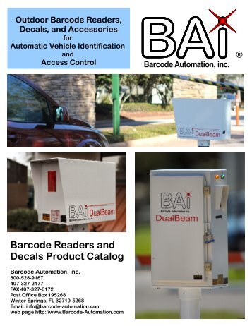 Product Catalog - Vehicle Access Control