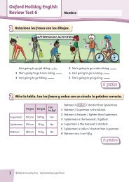 Oxford Holiday English Review Test 6 5 - Oxford University Press