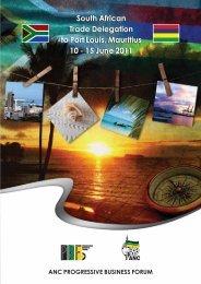 Brochure - the Progressive Business Forum website