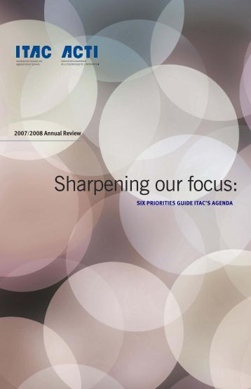 2007/2008 Annual Review - Information Technology Association of ...