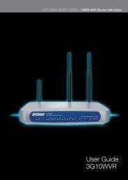 User Guide 3G10WVR - tridimas electronics