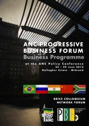 Invitation to participate in the Brics Colloquium and Network Forum
