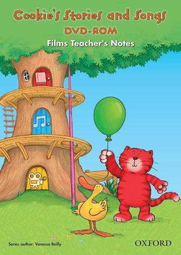 Stories & Songs DVD-ROM Films - Teacher's Notes