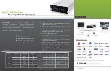 M800/M600 Series - Genius Vision Digital Inc.