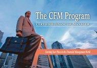 De ning the CFM Program Continual Growth - ICCAUS
