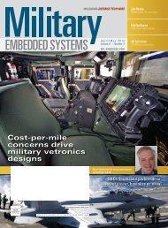 Cost-per-mile concerns drive military vetronics designs