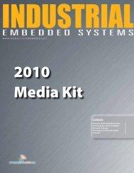 Industrial Embedded Systems 2010 Media Kit - OpenSystems Media