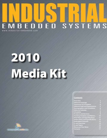 Industrial Embedded Systems 2010 Media Kit - OpenSystems Media