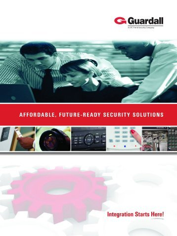 Guardall Integration Brochure - Contract Security Inc