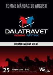 Program - Dalatravet