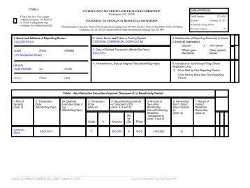 Form 4 - CCOM Group Inc.