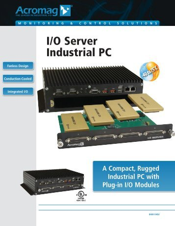 I/O Server Industrial PC