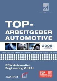 AUTOMOTIVE ARBEITGEBER - PSW automotive engineering GmbH