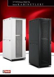 DYNAmax Dikili Tip Server Kabinetler W800xD1000mm ... - LANDE