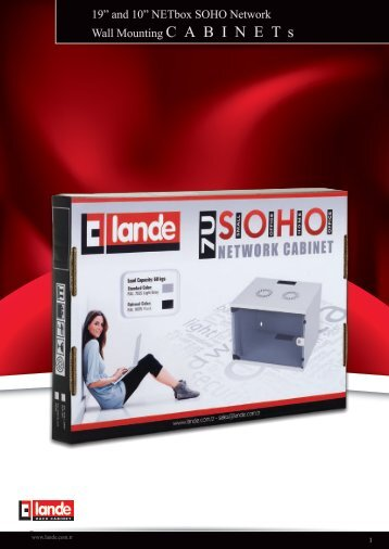 NETbox SOHO Network Series Wall Mounting Cabinets ... - LANDE