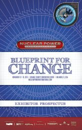 to download the Exhibitor Prospectus (pdf). - NUCLEAR POWER ...