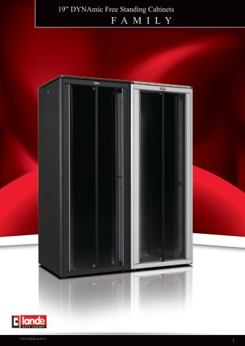 DYNAmic Free Standing Cabinets W600xD600mm Pdf View - LANDE